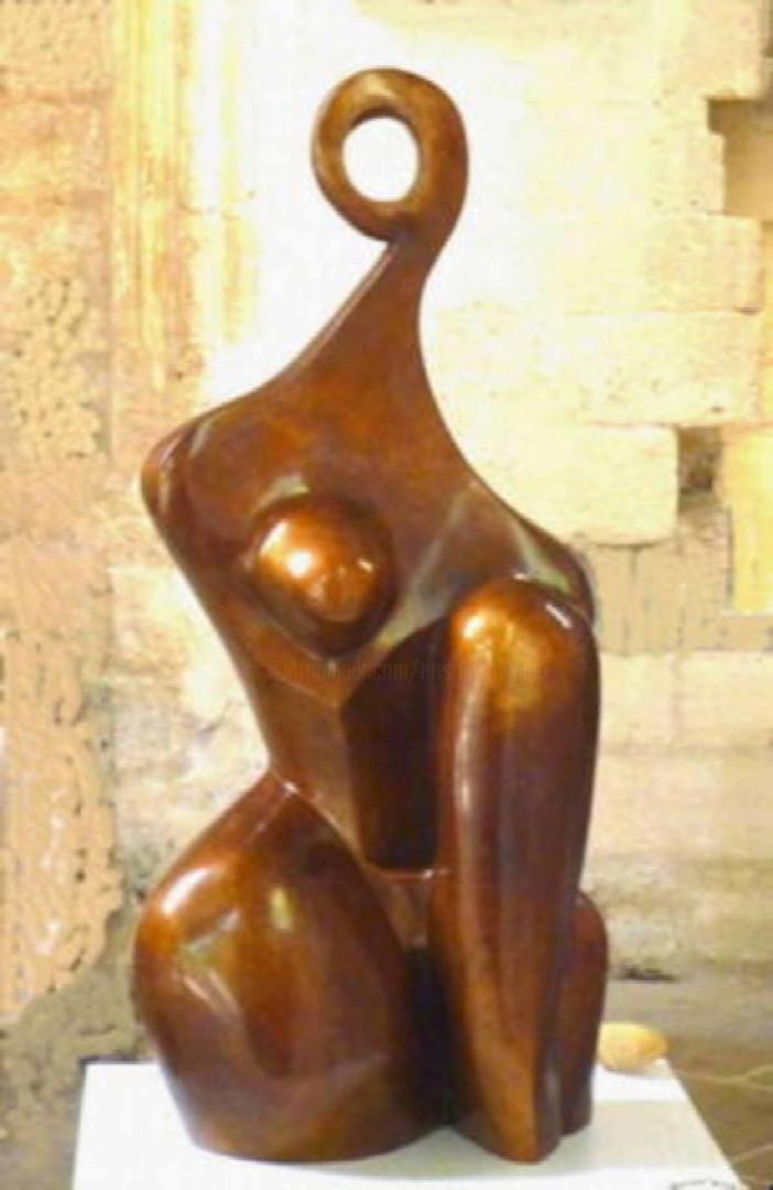 Mandel Sonia - CUBIST'ELLE  Bronze 1/8