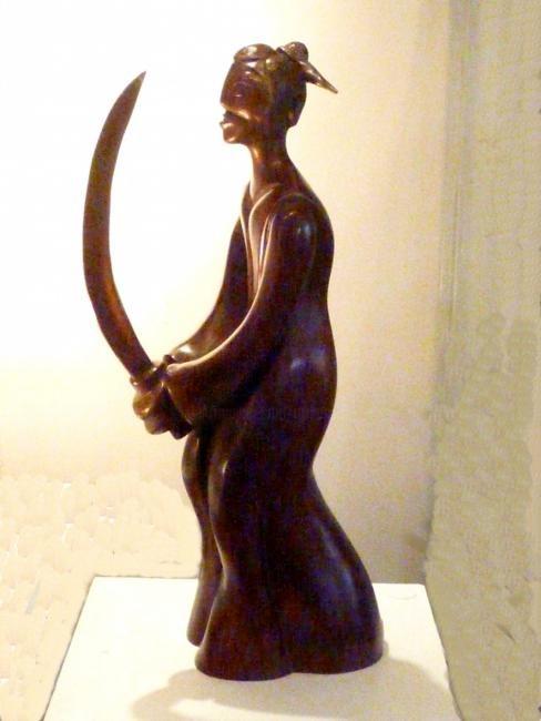 Mandel Sonia - LE SAMOURAÏ  Bronze 1/8