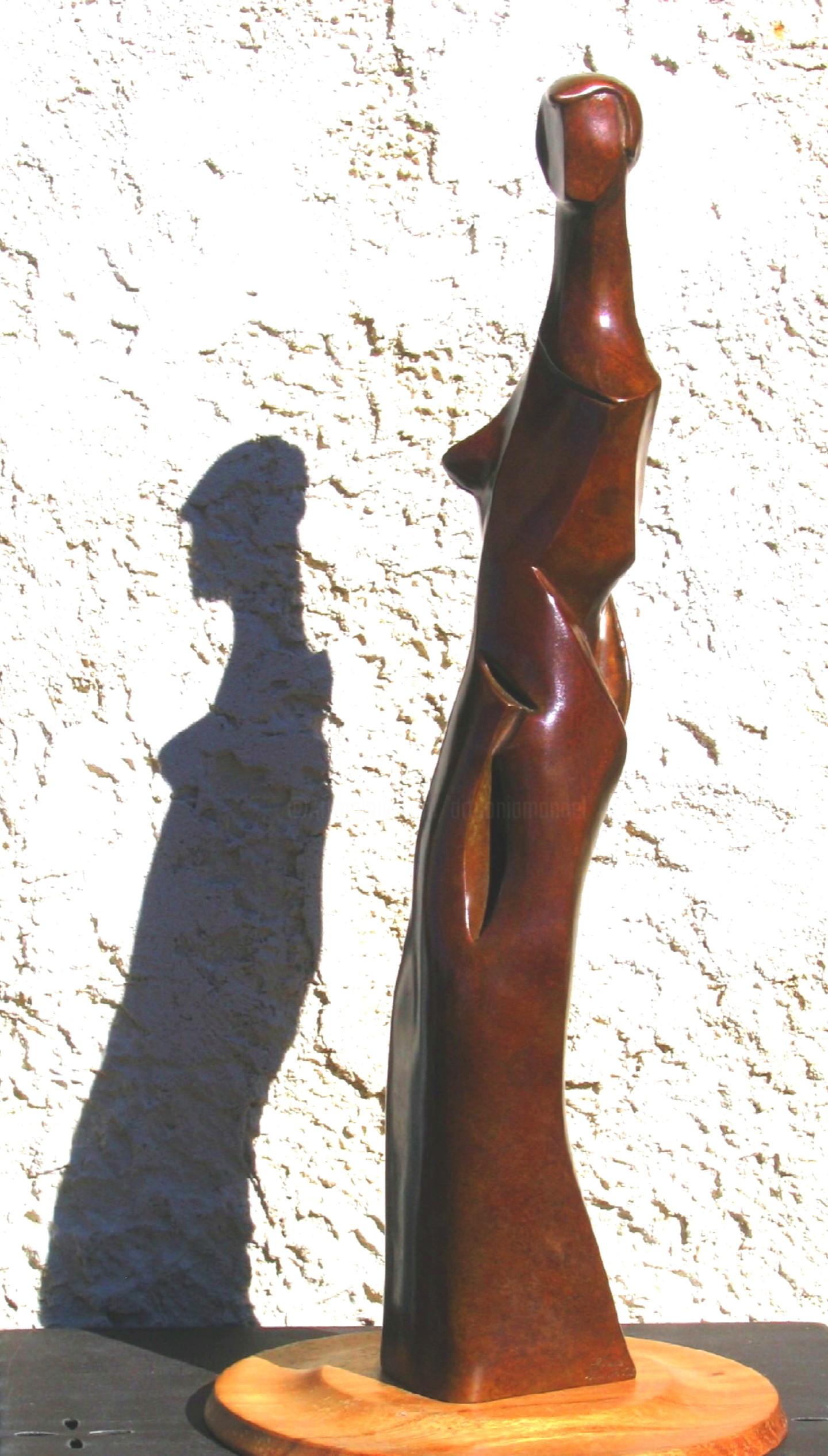 Mandel Sonia - LA GARçONNE - ART DECO  Bronze 2/8