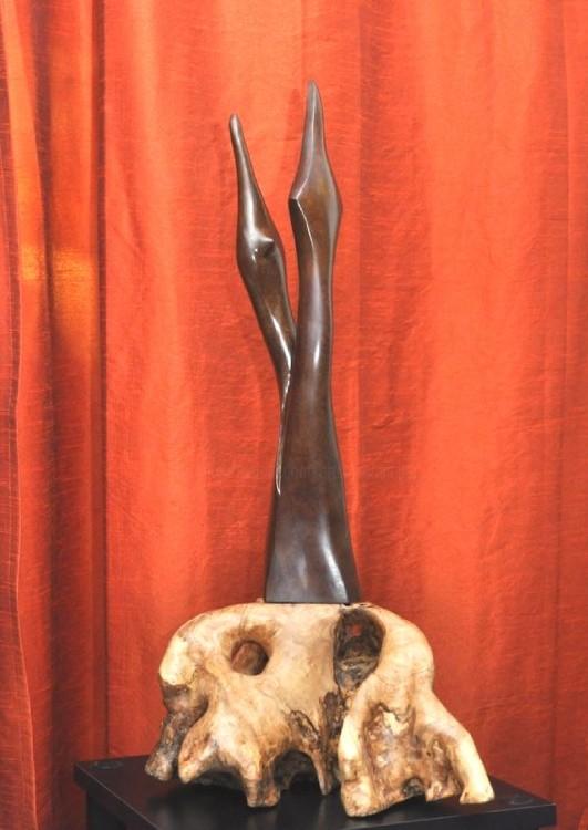 Mandel Sonia - VERTIGO SUR SOCLE OLIVIER  Bronze 1/8