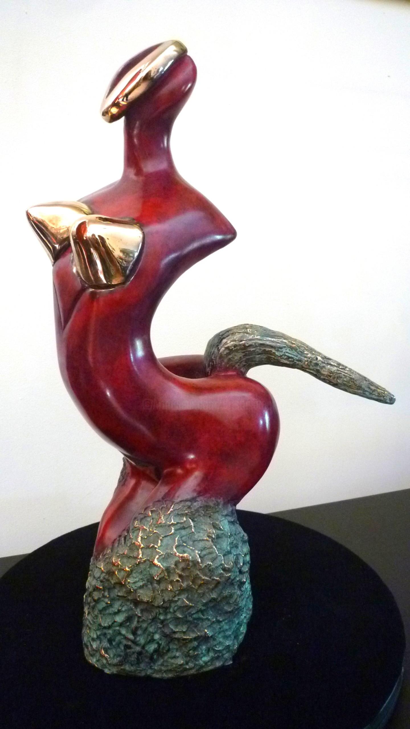Mandel Sonia - CHEVAL DE FEU Bronze 1/8