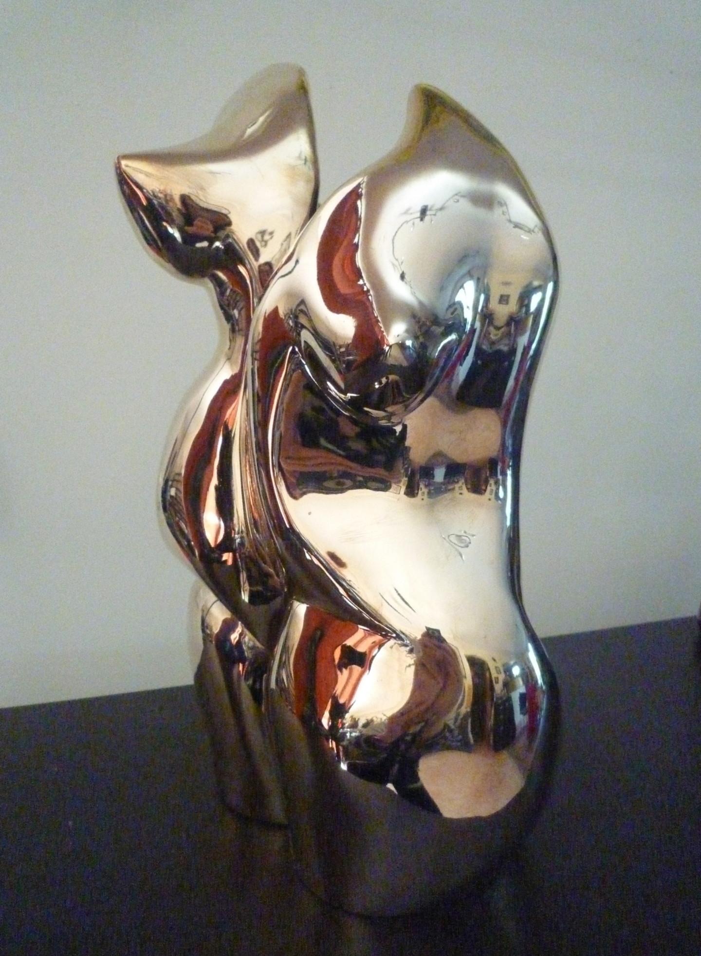 Mandel Sonia - MIROIR DEFORMANT Bronze poli 1/8