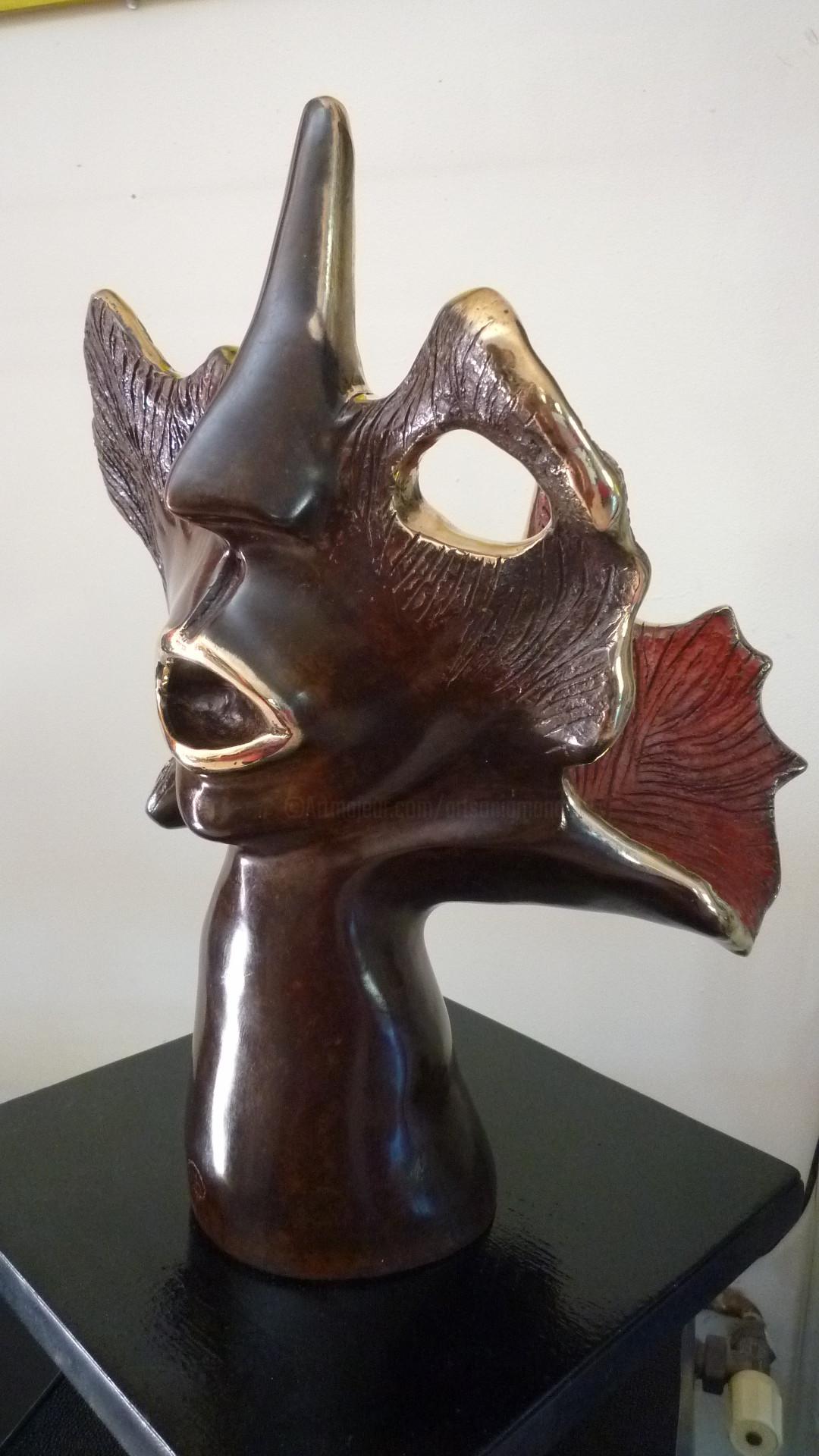 Mandel Sonia - COMMEDIA DELL'ARTE Bronze bicolore 1/8